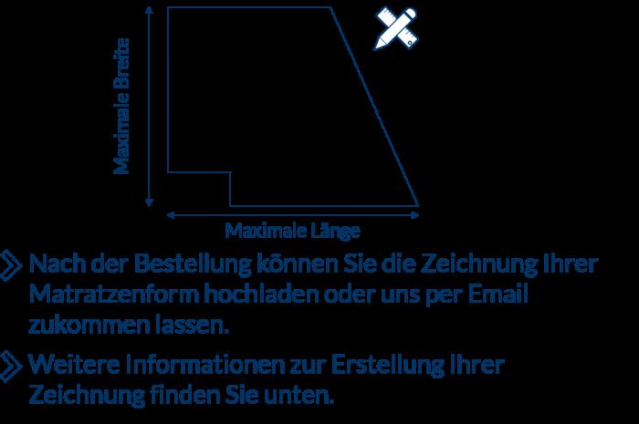 Matratzenzeichnung
